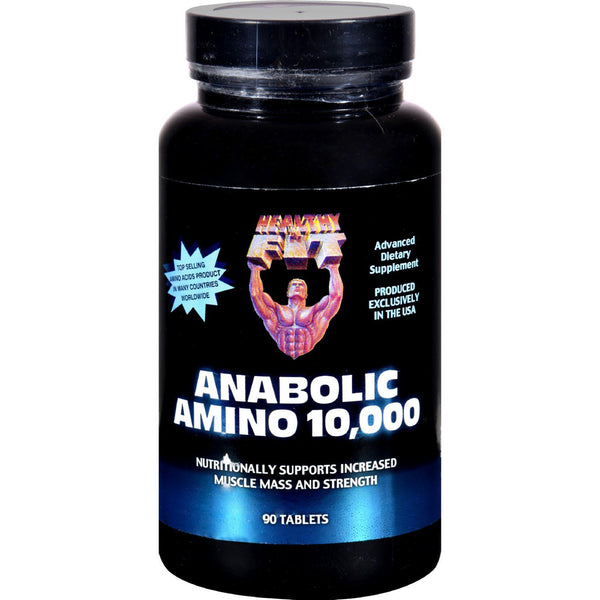 Healthy 'n Fit Anabolic Amino 10000 - 90 Tablets