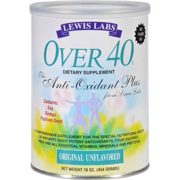 Lewis Lab Over 40 - Adult - Original Unflavored - 16 Oz