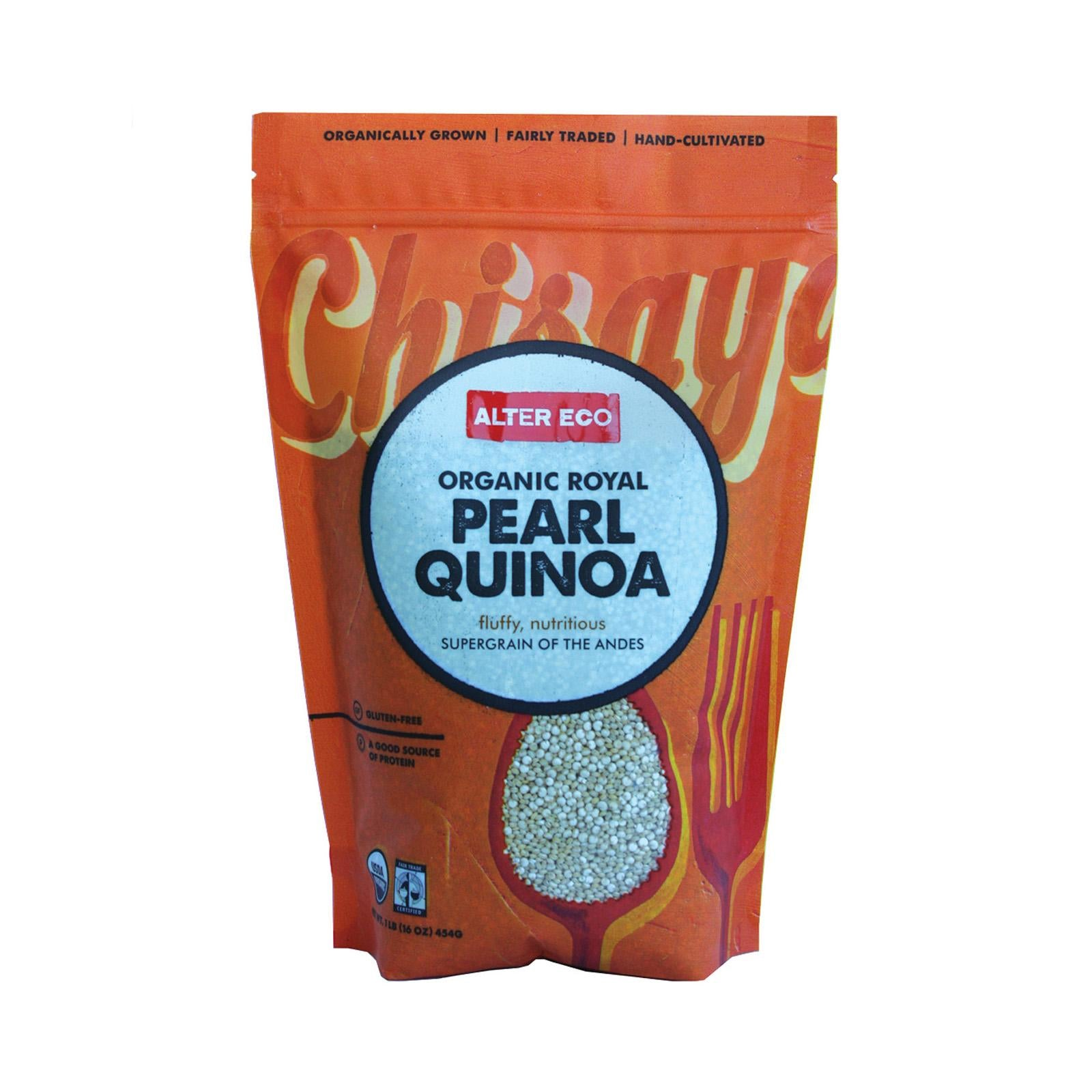 Alter Eco Americas Quinoa - Red Heirloom - Case Of 25 - 1 Lb.