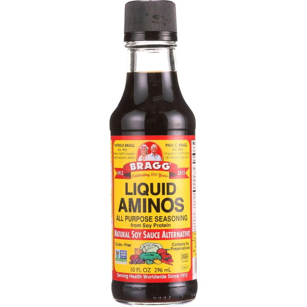 Bragg Liquid Aminos - 10 Oz - Case Of 12