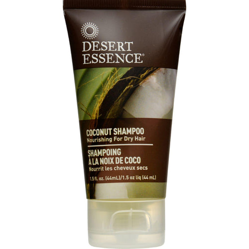 Desert Essence Shampoo - Nourishing - Coconut - Trvl - 1.5 Fl Oz - 1 Case