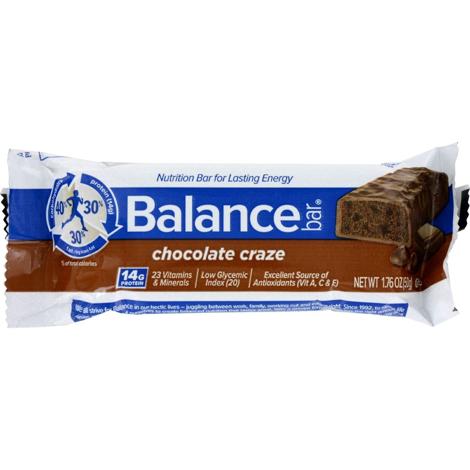 Balance Bar - Chocolate Craze - 1.76 Oz - Case Of 6