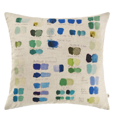 Designers Guild Issoria Outdoor Cobalt Cushion