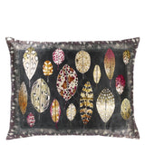 Tulsi Aubergine Cushion