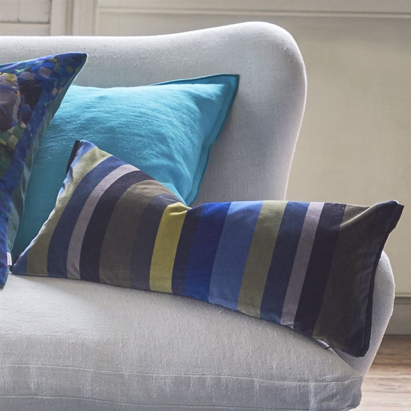 Designers Guild Lambusa Cobalt Cushion