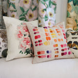 John Derian Mixed Tones Fuchsia Cushion