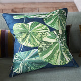Designers Guild Arjuna Leaf Viridian Cushion