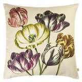 Variegated Tulips Buttermilk Cushion