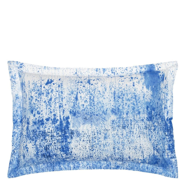Satari Cobalt Oxford Pillowcase