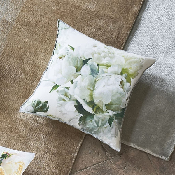 Designers Guild Peonia Chartreuse Cushion