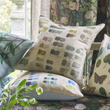 John Derian Neutral Mixed Tones Pistachio Cushion