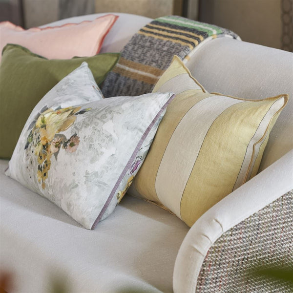 Designers Guild Brera Gessato Hemp Cushion