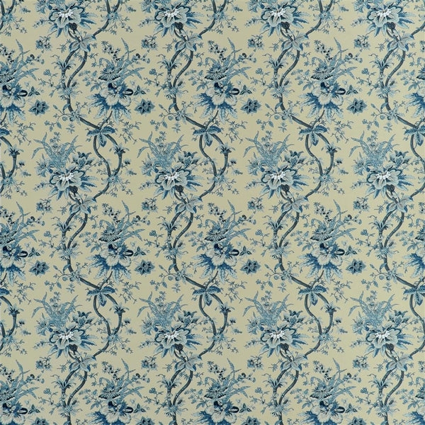 Yarmouth Floral - Slate Blue