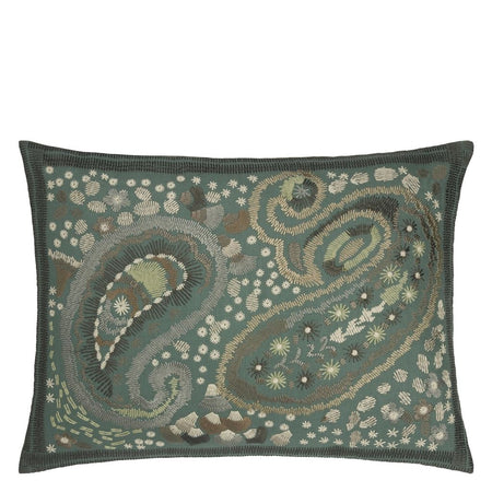 Designers Guild Carrara Fiore Verde Cushion