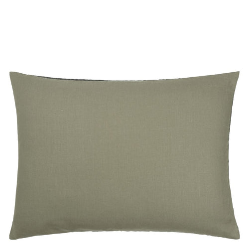 Designers Guild Uchiwa Teal Cushion