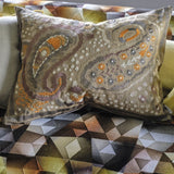 Designers Guild Uchiwa Ochre Cushion