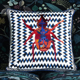 Christian Lacroix Beetle Waves Oeillet Cushion
