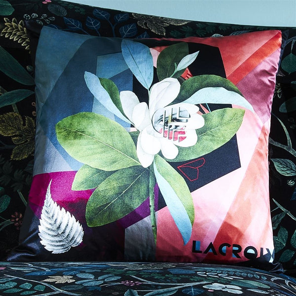 Christian Lacroix Cubic Orchid Multicolore Cushion