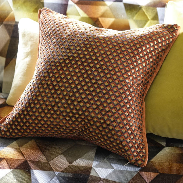 Designers Guild Portland Terracotta Cushion