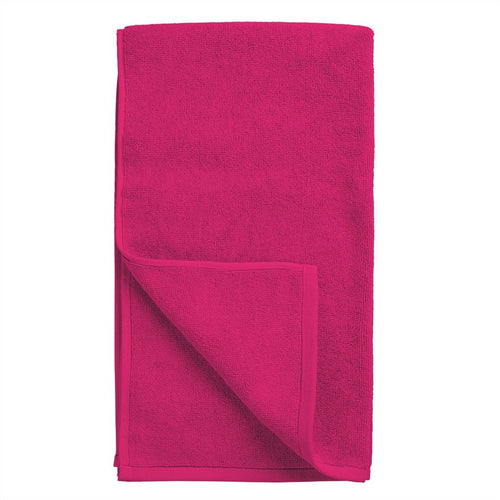 Designers Guild Coniston Fuchsia Bath Mat