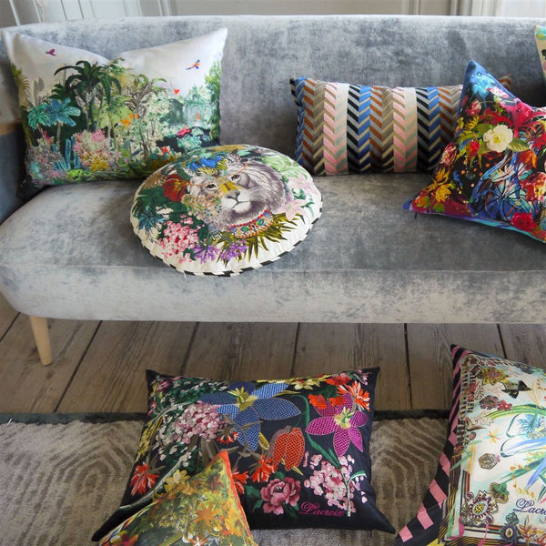 Christian Lacroix Jungle King Opiat Cushion