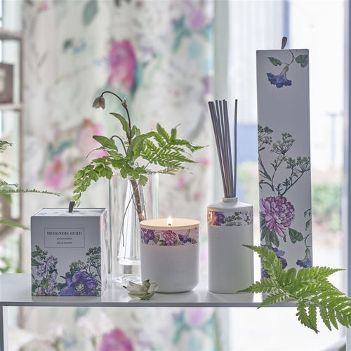 Designers Guild Alexandria Lilac And Lavender Candle
