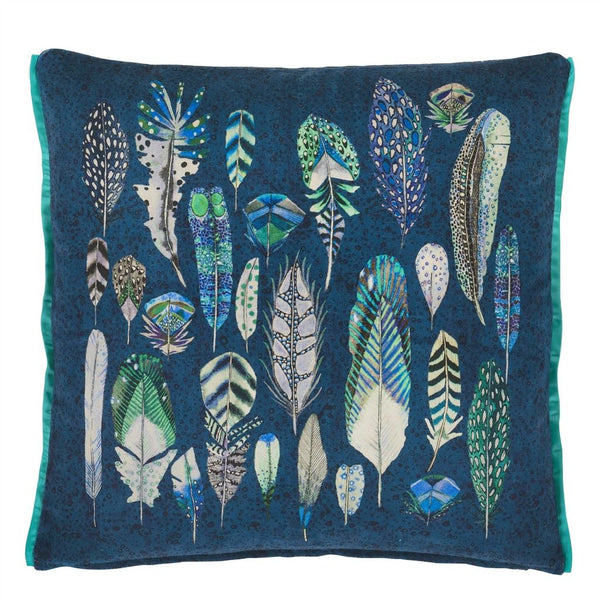 Quill Cobalt Cushion