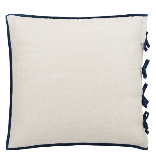 Designers Guild Sevanti Indigo Square Quilted Cushion