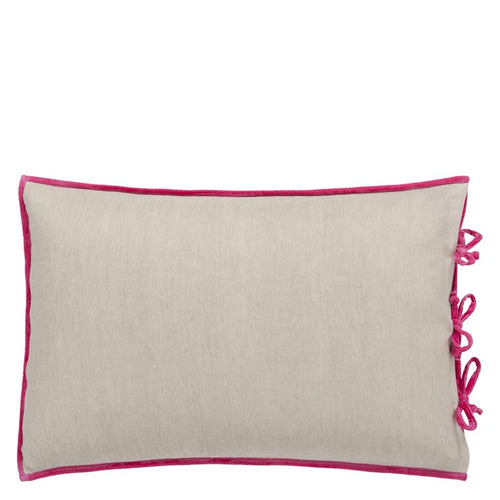 Designers Guild Sevanti Fuchsia Rectangular Quilted Cushion