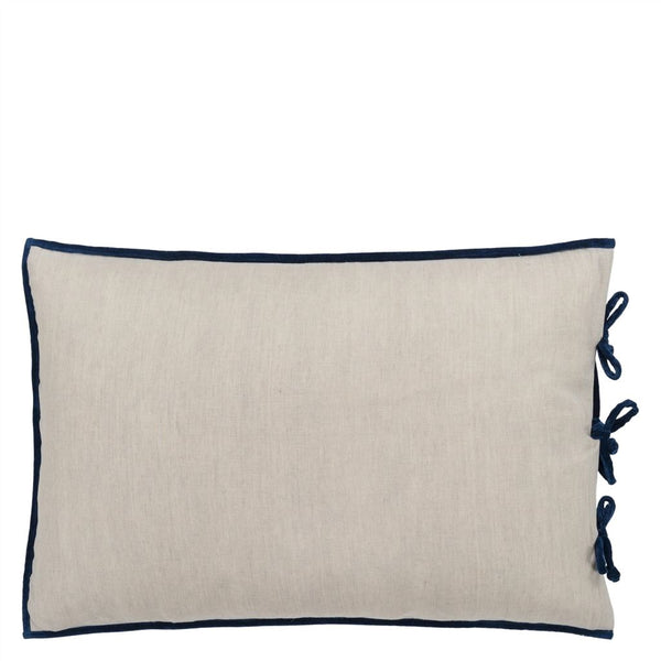 Designers Guild Sevanti Indigo Rectangular Quilted Cushion