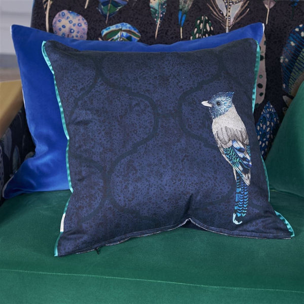 Designers Guild Quill Cobalt Cushion