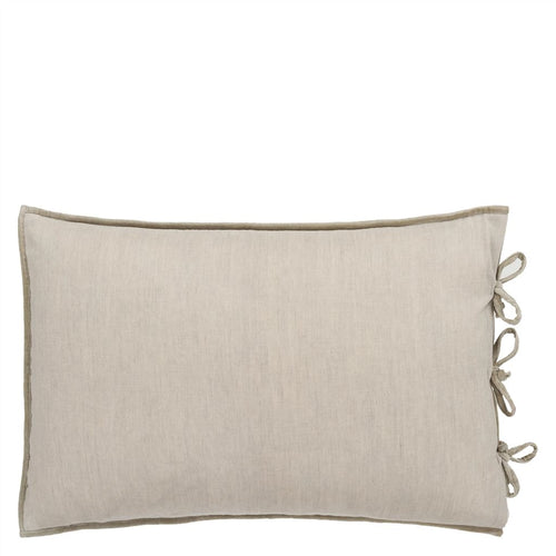 Designers Guild Sevanti Dove Rectangular Quilted Cushion