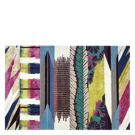 Christian Lacroix Mascarade Graphite Rug