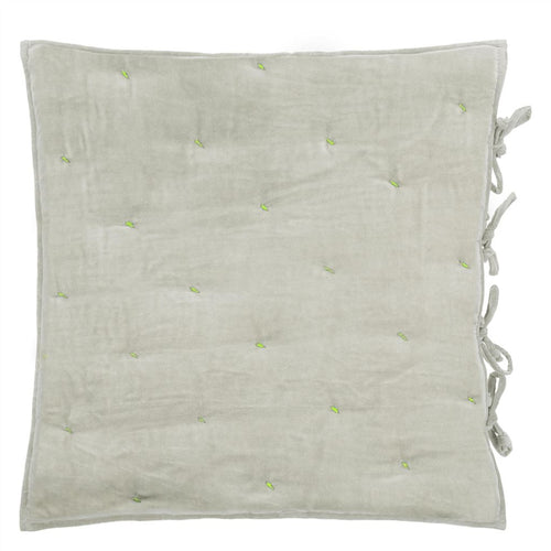 Designers Guild Sevanti Dove Square Quilted Cushion