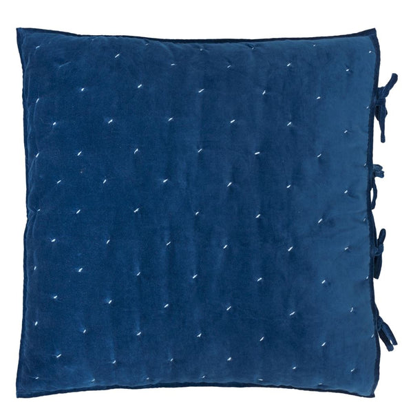 Sevanti Indigo Square Quilted Cushion