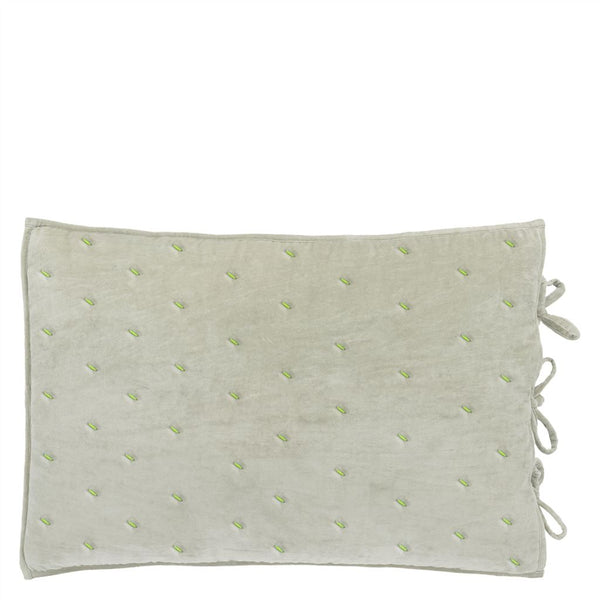 Sevanti Dove Rectangular Quilted Cushion