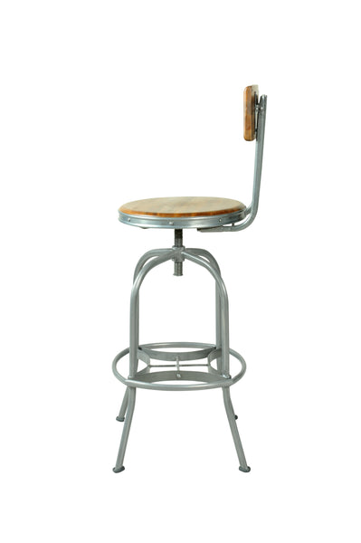 F&B Bar Stool with Back Rest