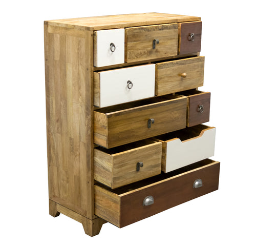 F&B Vintage Neutral 10 Drawer