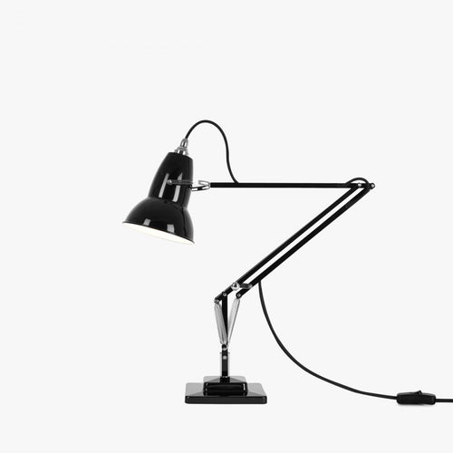 Anglepoise® 1227 Desk Lamp with Cable Braid - Jet Black
