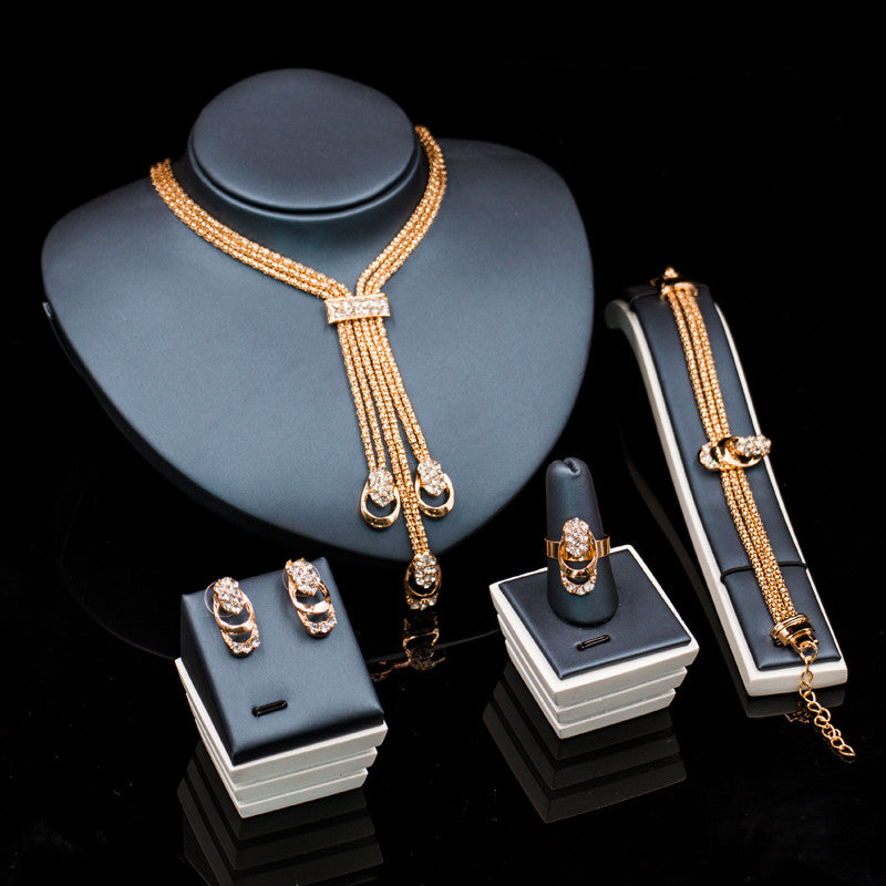 Touch Of Statement Jewelry Set
