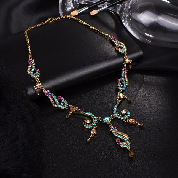 Ethnic Multicolor Necklace