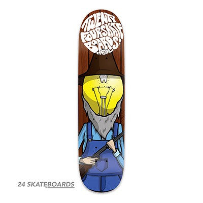 The Hillbilly Skateboard deck