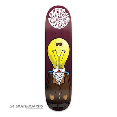 The Soldier Skateboard deck