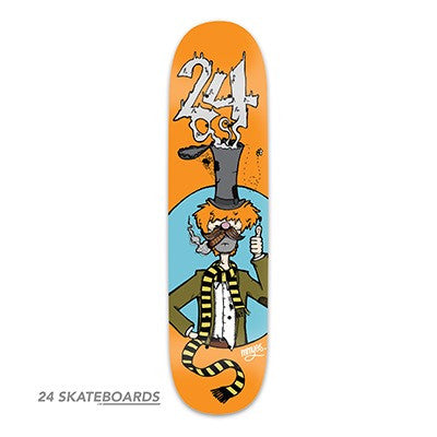 The Vagabond Skateboard deck