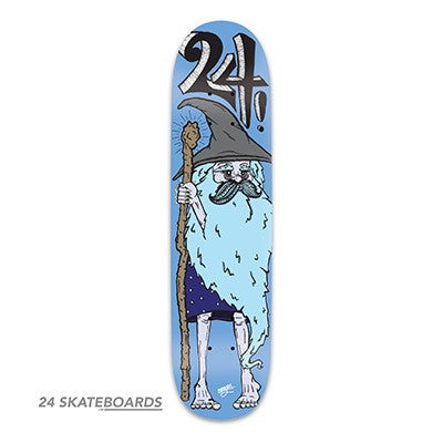 The Wizard Skateboard deck