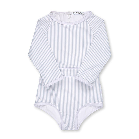 Silver Lining One-Piece Sunsuit