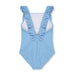 Riviera Blue Square Neck Frill