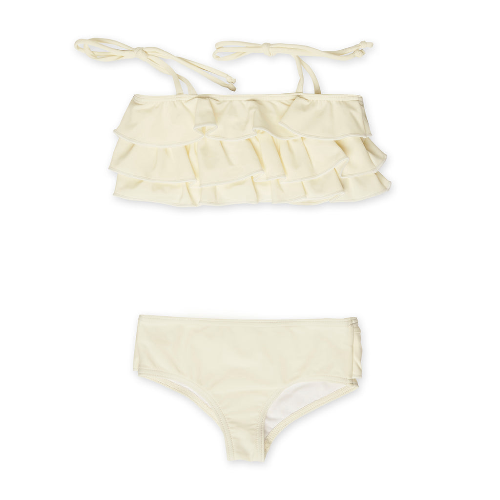 Ivory Ruffle Two-Piece