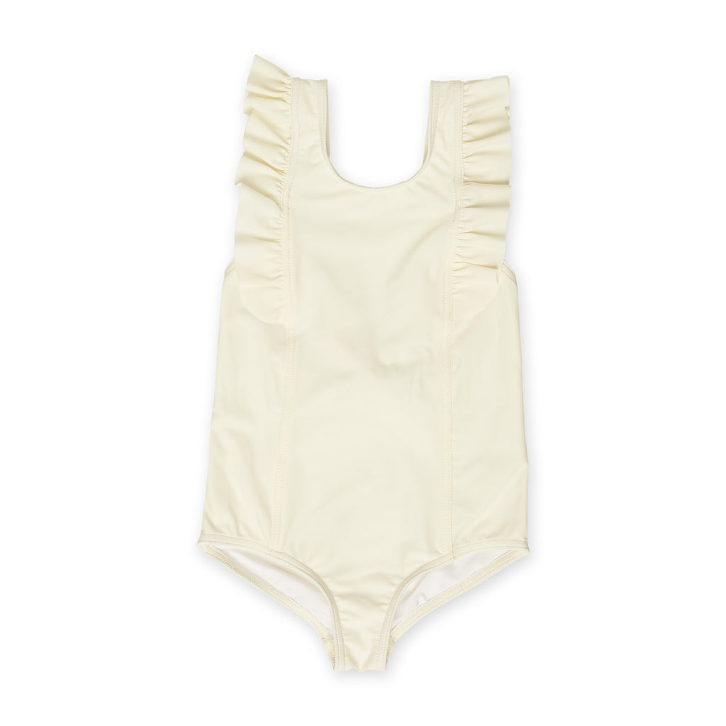 Ivory One-Piece Frill