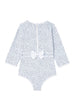 Ice Blue One-Piece Sunsuit
